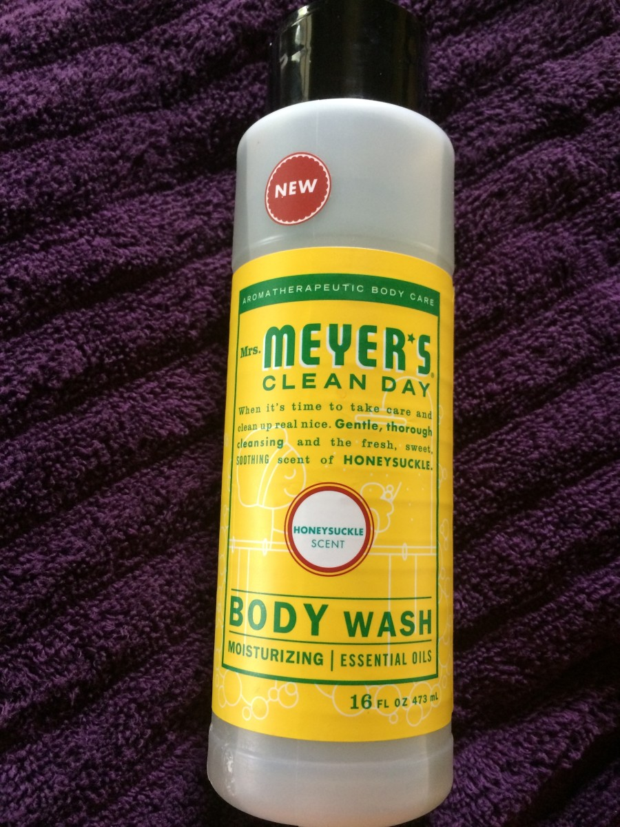 My Review of Mrs. Meyer's Clean Day Honeysuckle Body Wash