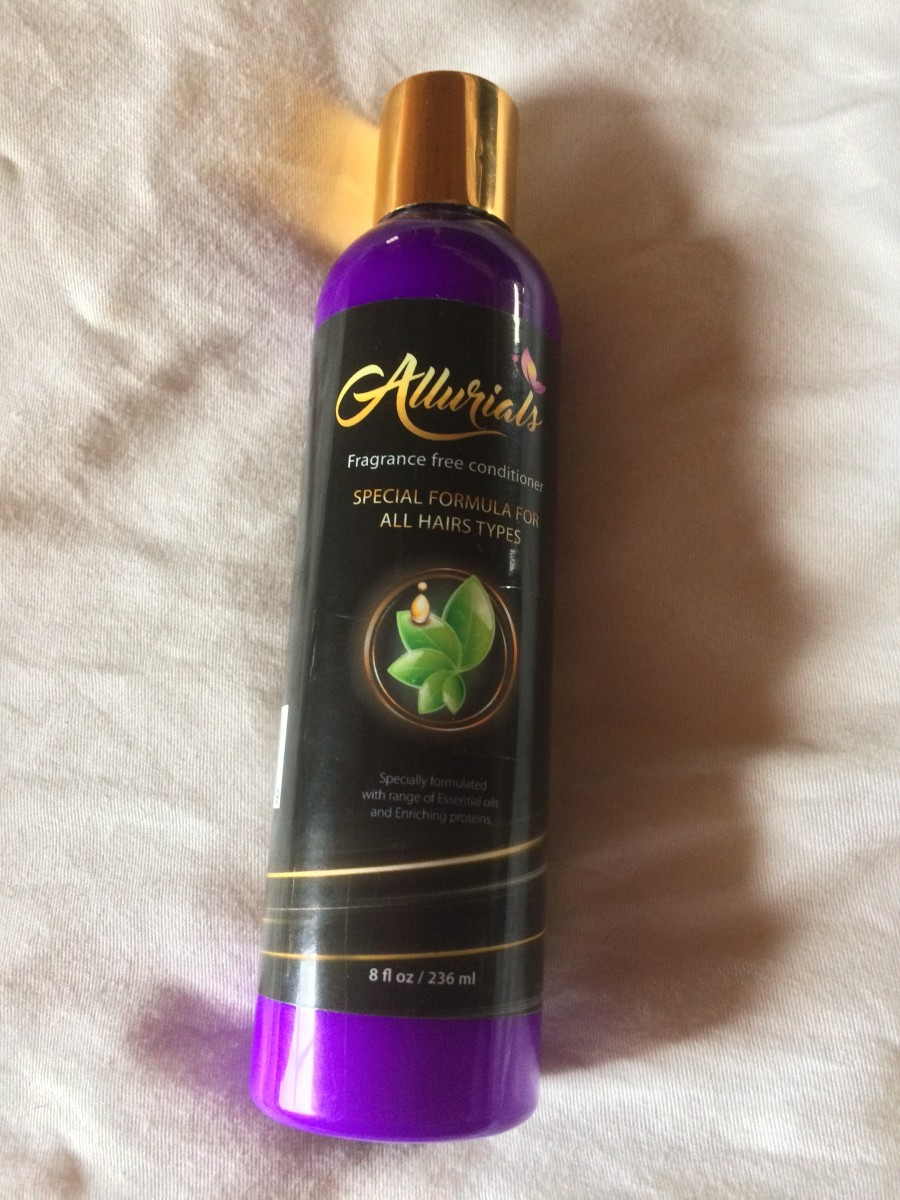 My Review of Allurials Fragrance Free Conditioner
