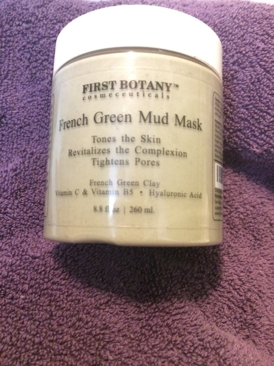 Skin Care Reviews: First Botany Cosmeceuticals French Green Mud Mask