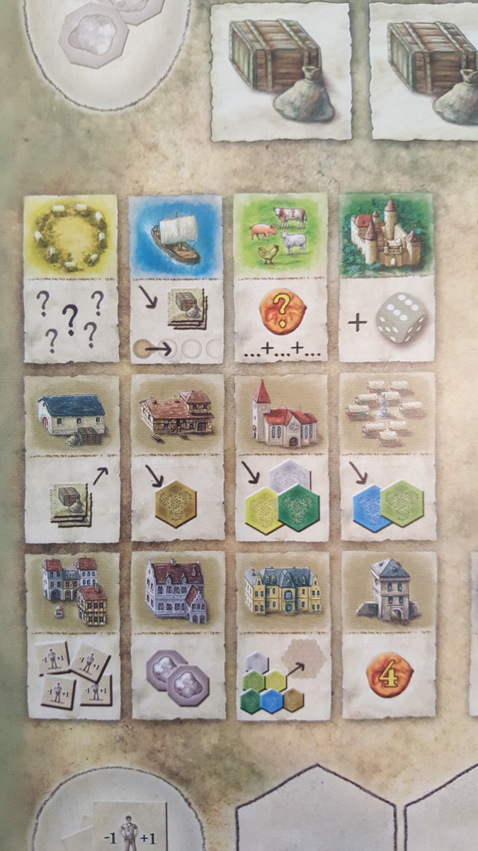 Player Aid-The Castles of Burgundy