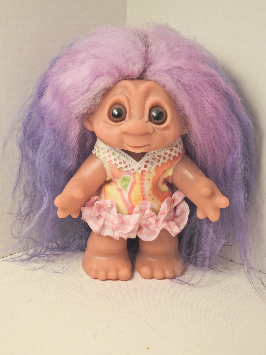 Trying on new Troll wigs