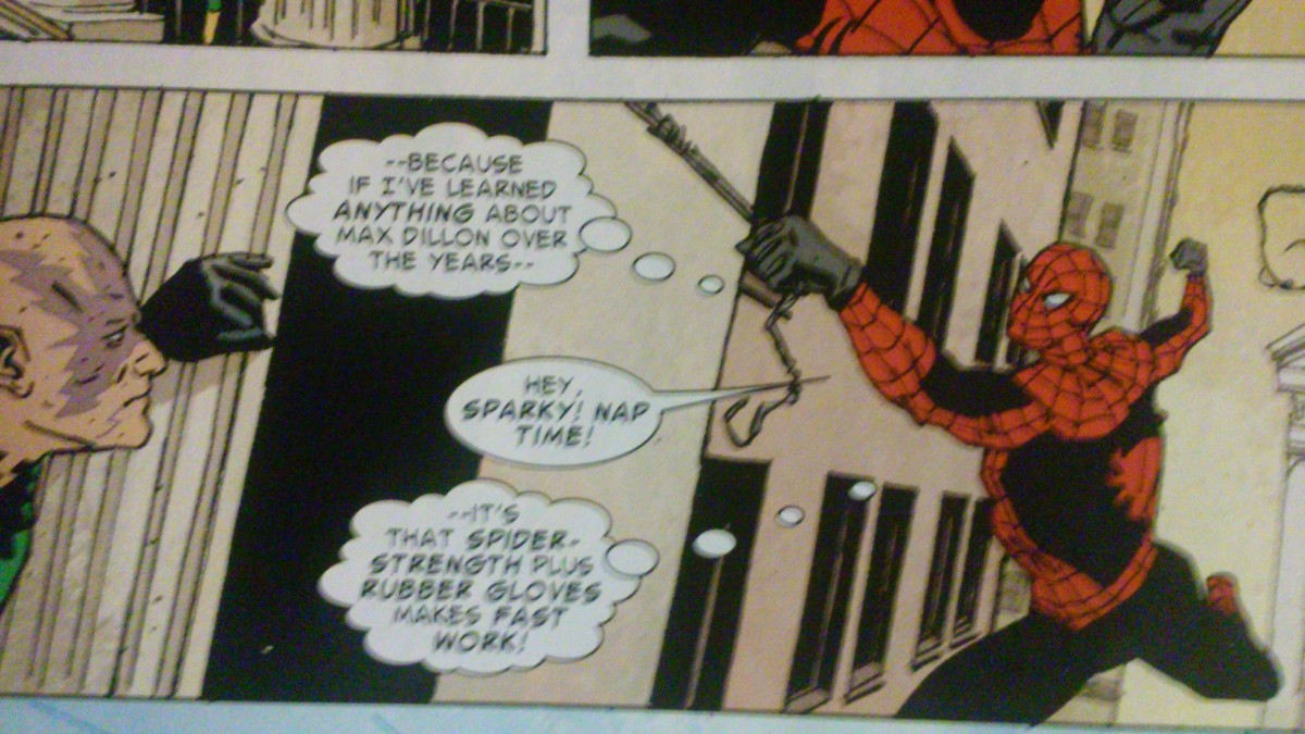 Leave it to Spidey to tell a supervillain when his bedtime is.