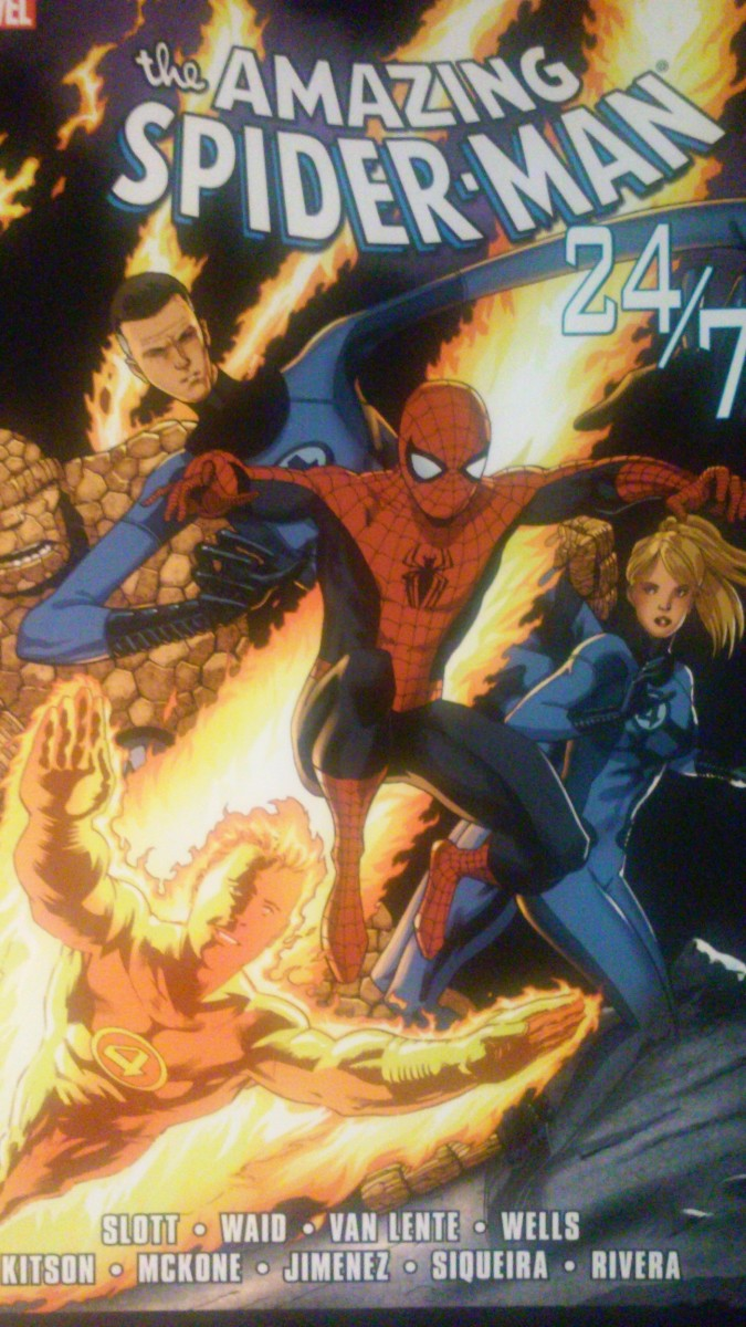 "Amazing Reviews: ""24/7"" (Amazing Spider-Man 589-594)"