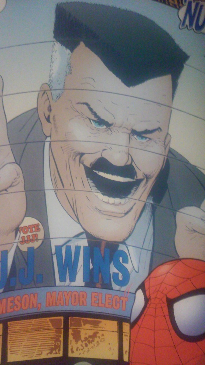 """""""And for my first act as mayor, everyone must wear a Hitler-stache like mine!"""""""