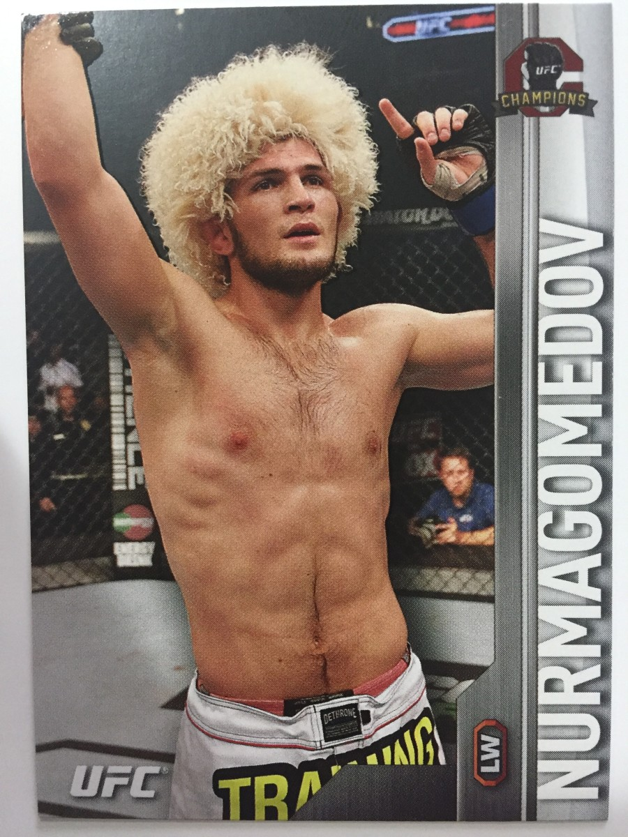 Topps UFC Trading Cards for Beginners