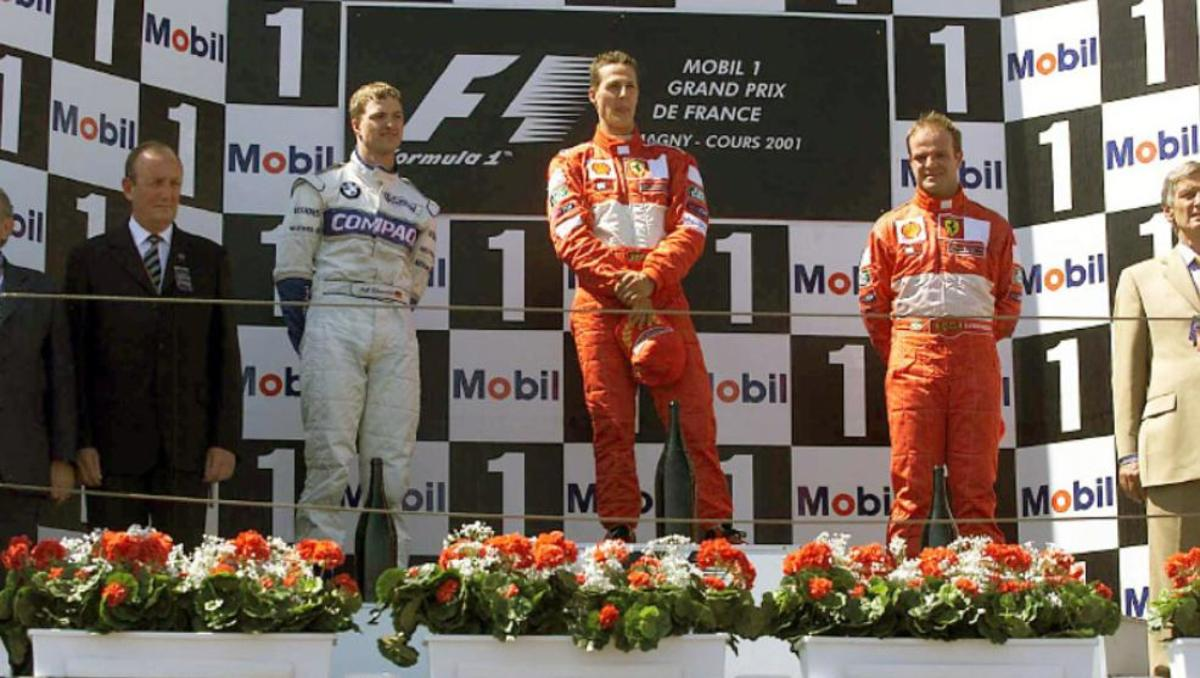 The 2001 French GP: Michael Schumacher's 50th Career Win