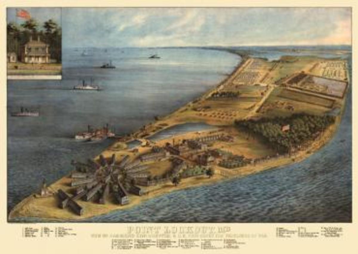 Point Lookout Hospital Civil War Era