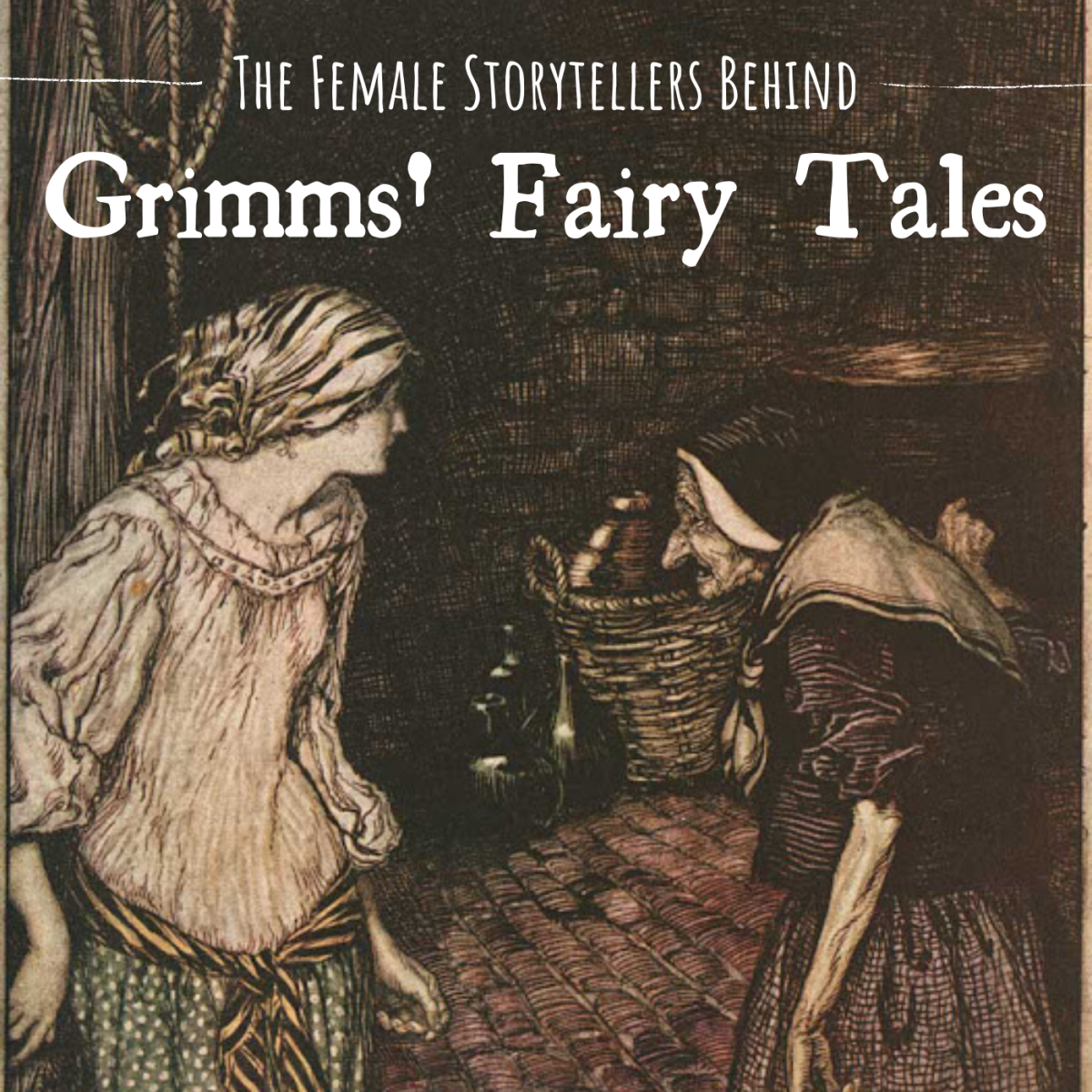 Did you know that manny of the Grimm Brothers' best-known fairy tales were shared with them by various women they and their sister met and interviewed?