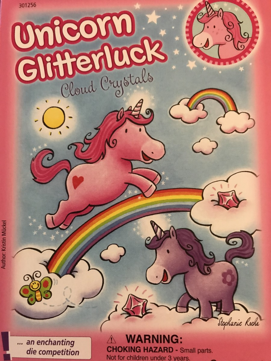 Unicorn Glitterluck is like Snakes and Ladders with a magical sparkle . . . and cupcakes.