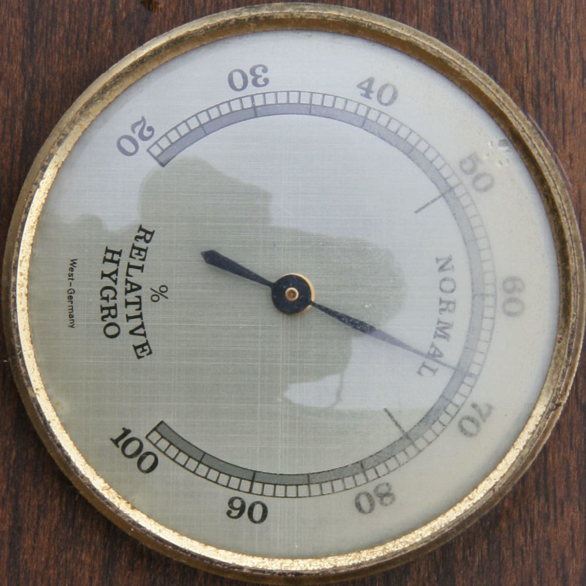Heres's what a real hygrometer looks like.