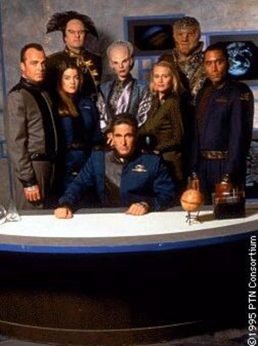 Season 1 Cast Photo of Babylon 5
