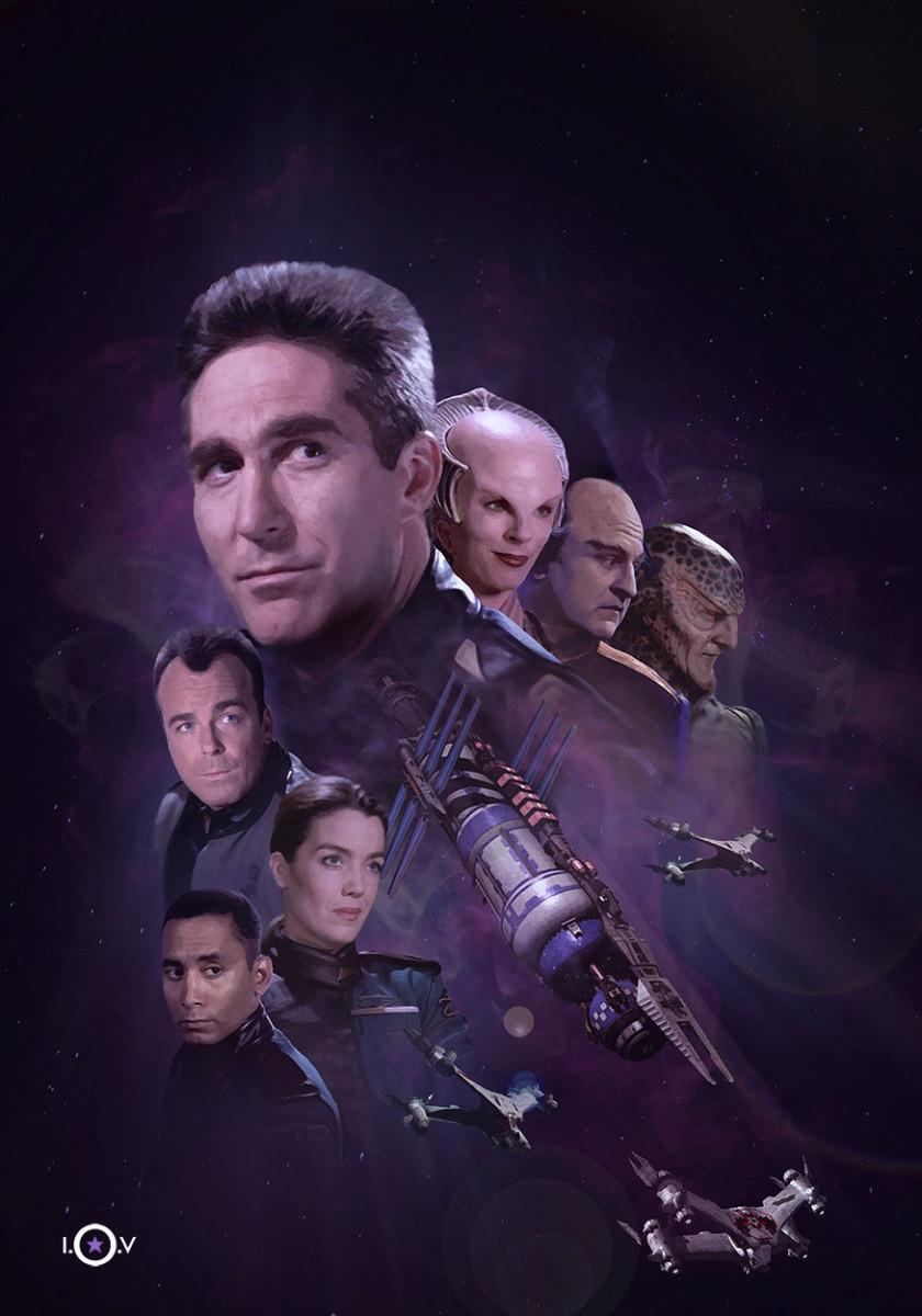 Season 1 cast of Babylon 5