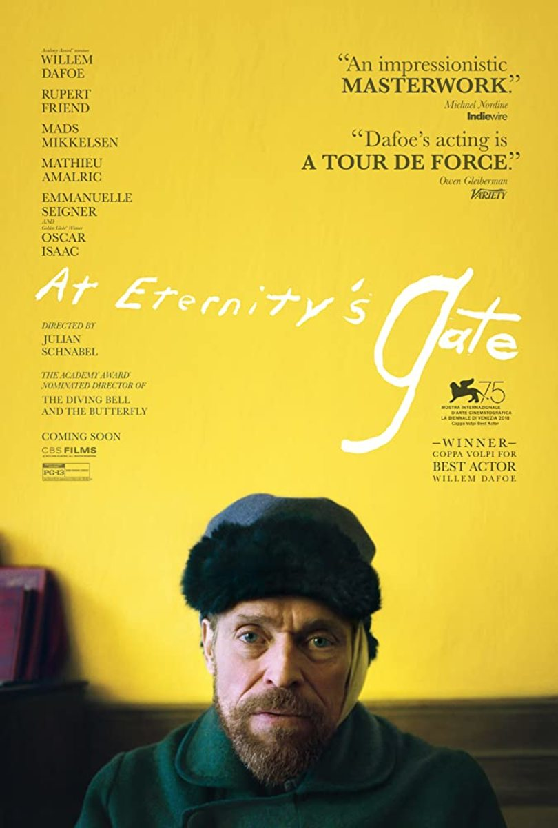 At Eternity's Gate (2018) – a Portrait of a Soul, Movie Review