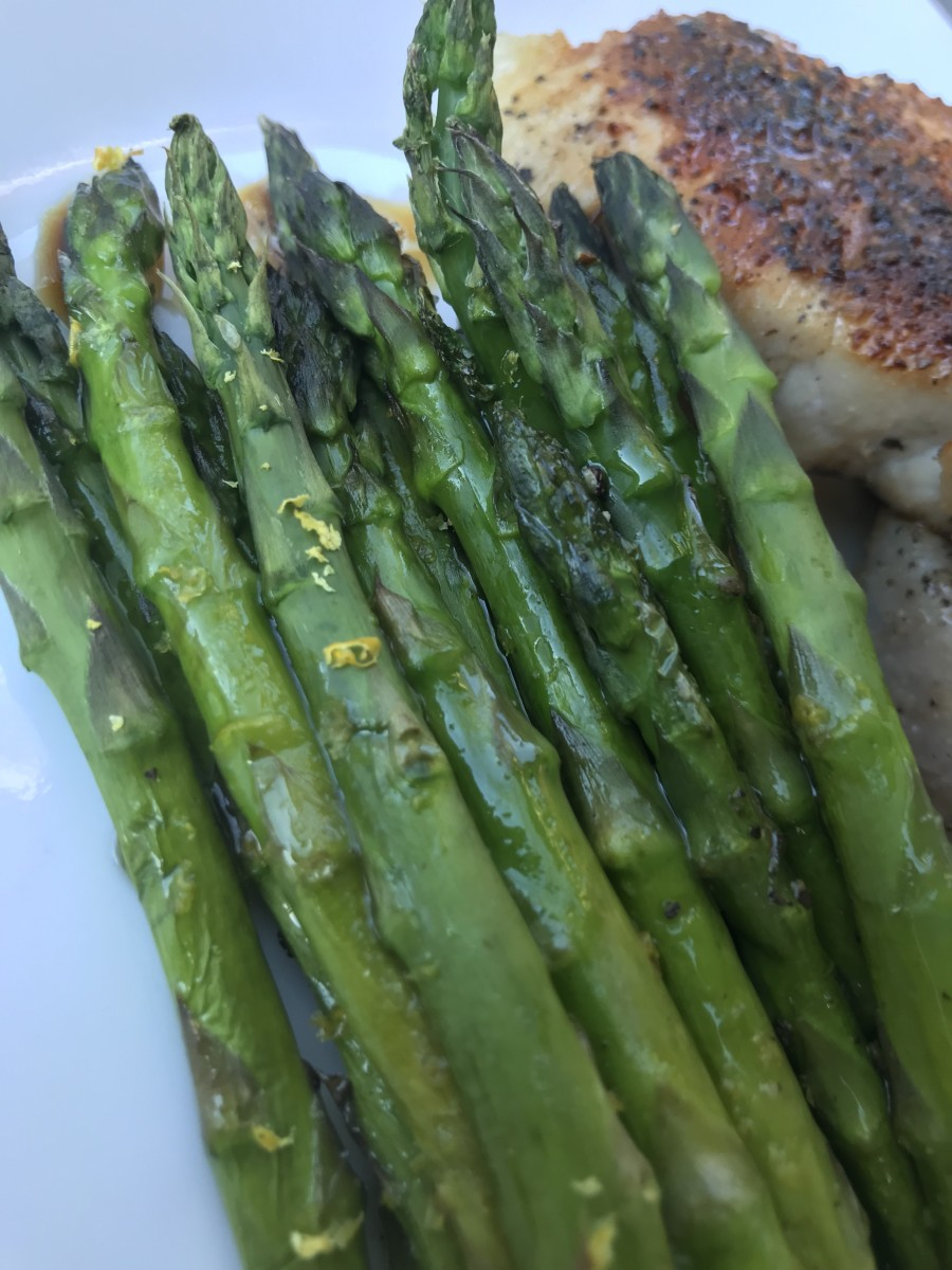 Perfectly cooked, crisp tender and popping with flavor, this roasted asparagus with lemon will be a new favorite!