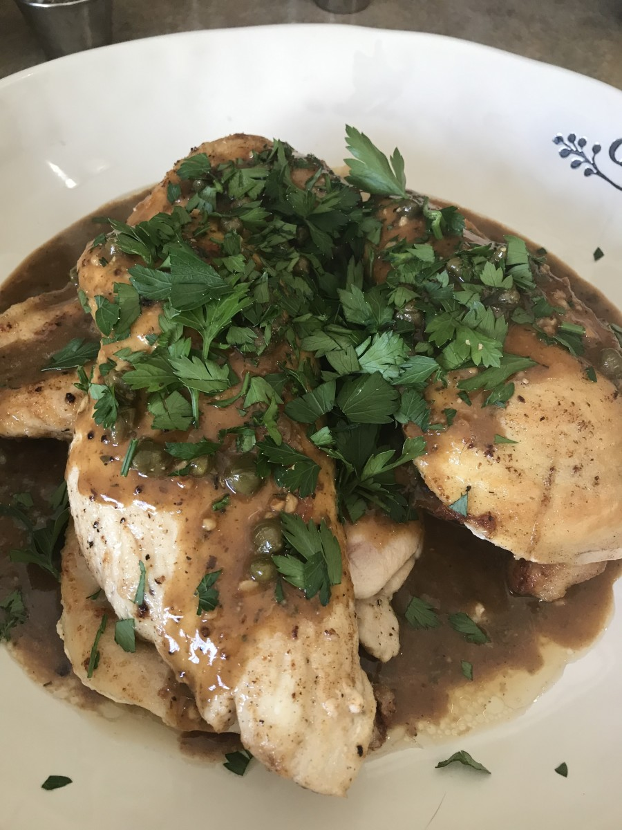 Easy Homemade Chicken Piccata Recipe