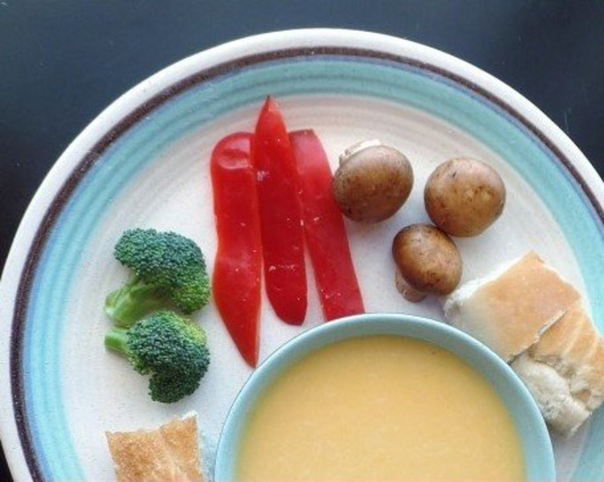 Kid-friendly (alcohol-free) cheese fondue