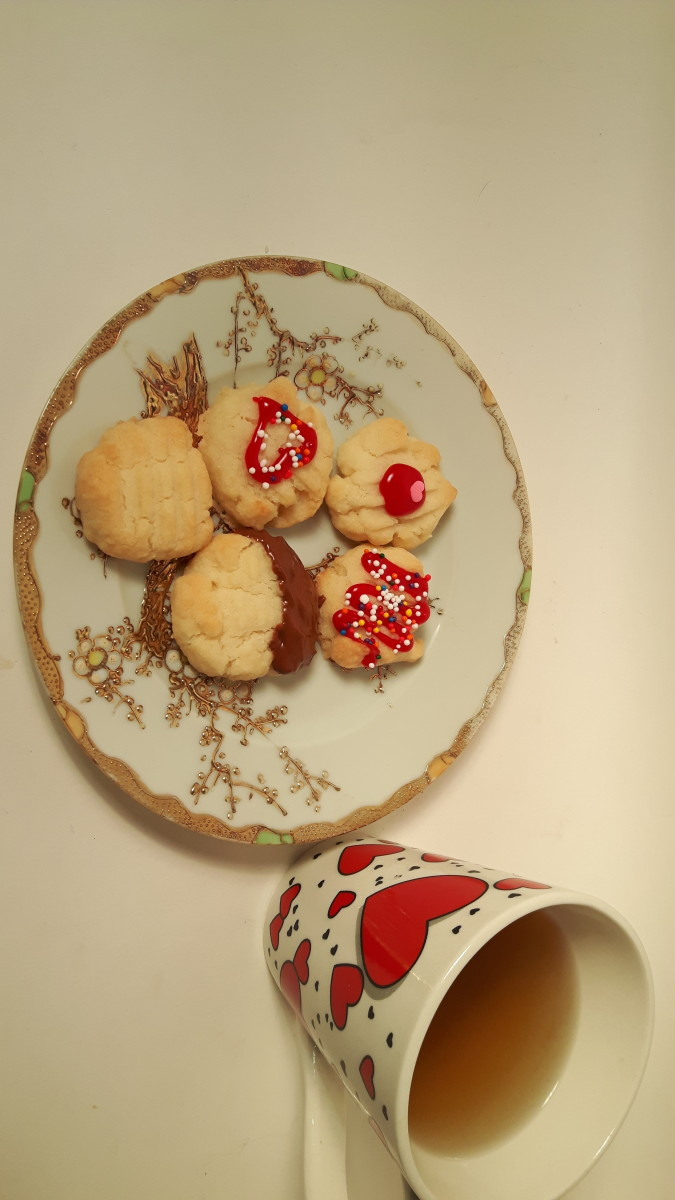Ready to eat cookies