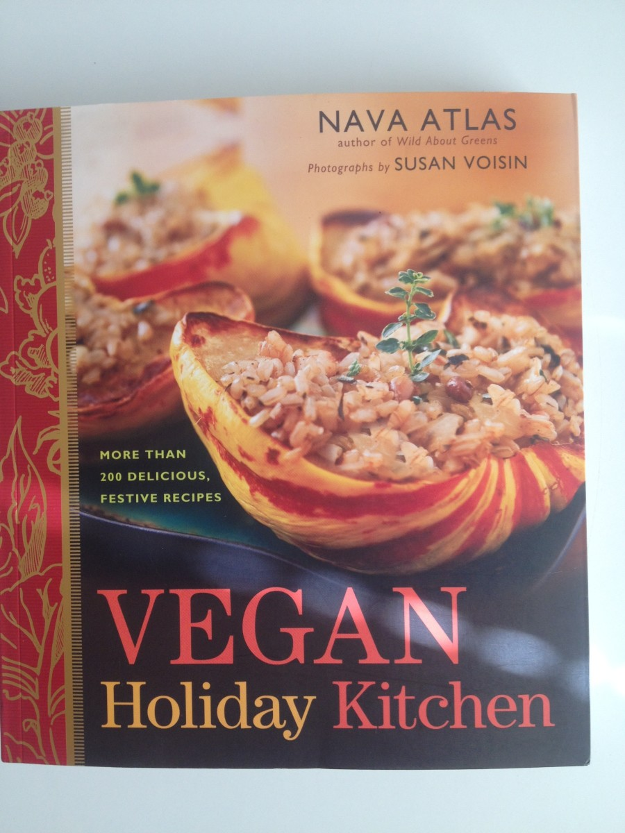 """The cover of """"Vegan Holiday Kitchen."""""""