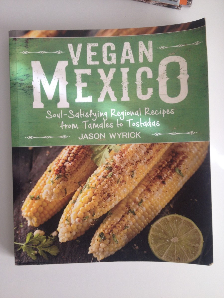 """The cover of """"Vegan Mexico."""""""