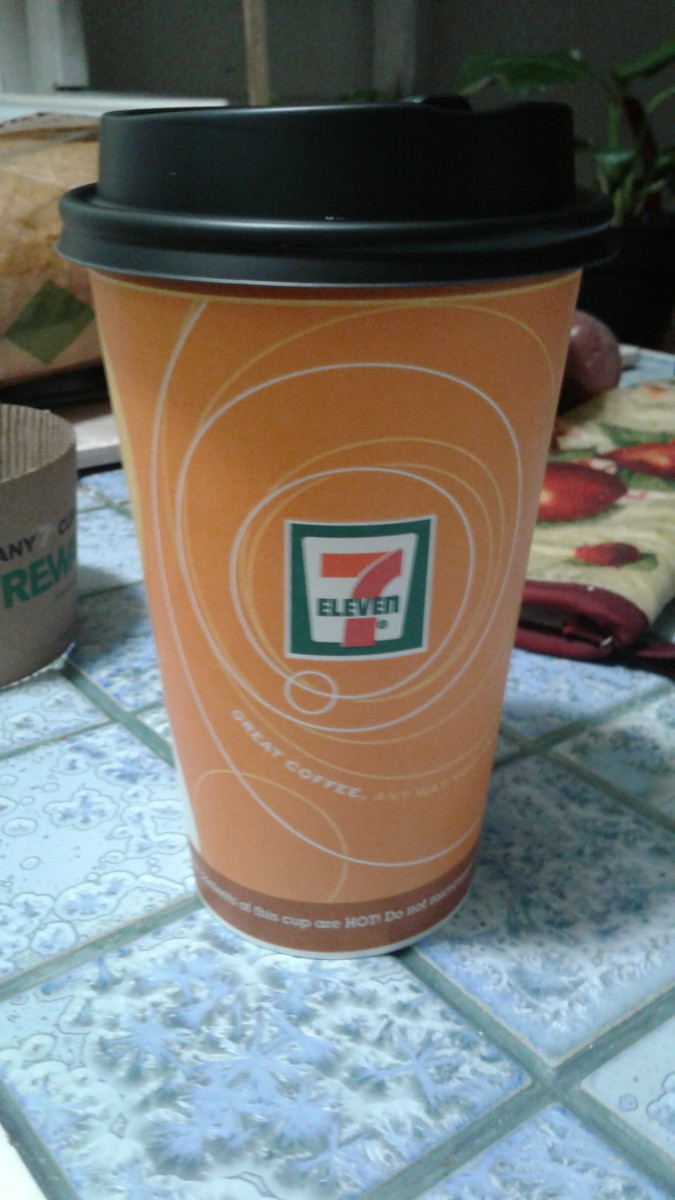 Coffee is $1.89 at 7-Eleven for 16 oz.