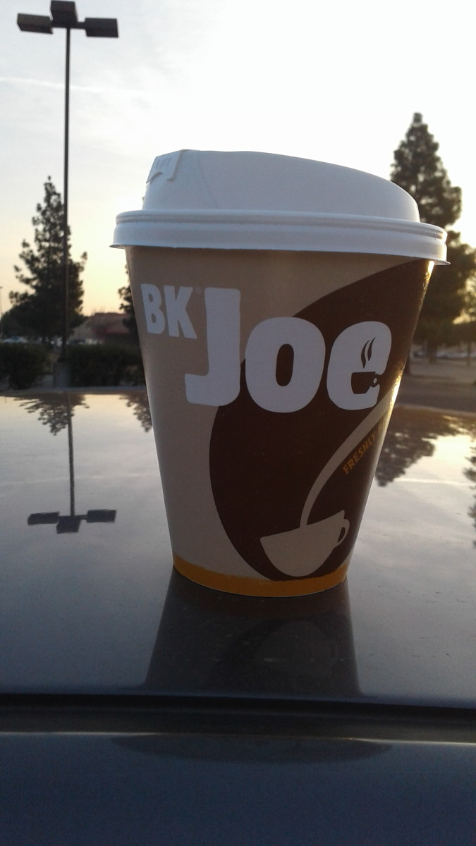 Burger King's coffee is one of my favorites.