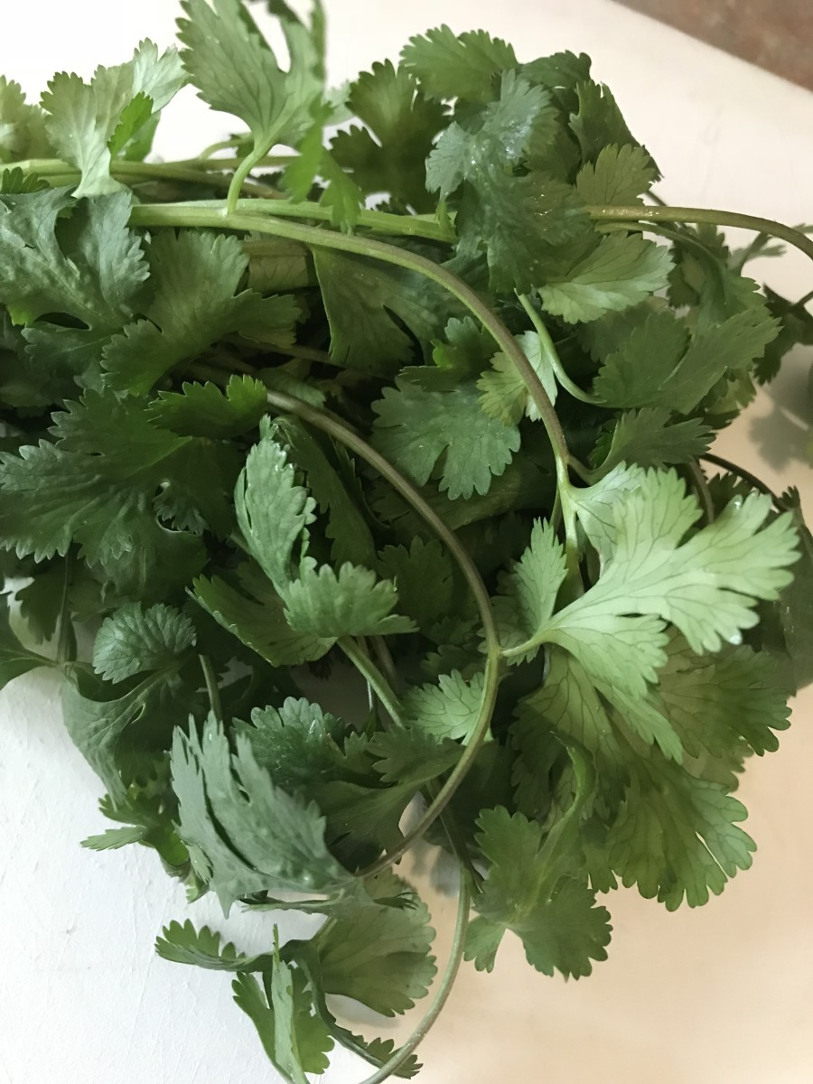 I love fresh cilantro, but many folks don't. To them it tastes like soap - which isn't a nice thing at all. Just swap out fresh Italian parsley for the cilantro and you'll still have the fresh green flavor without unpleasant soapiness.