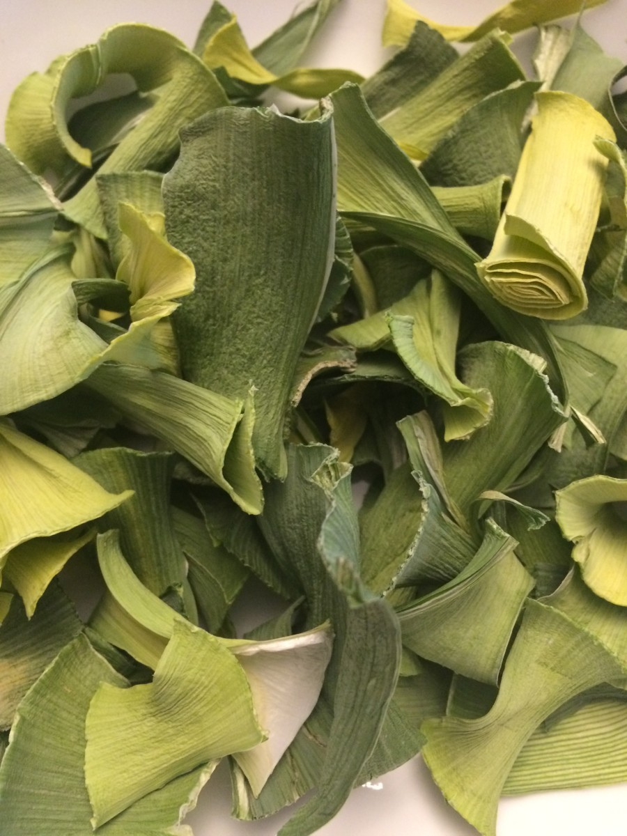 What Can You Do With Leftover Leeks? Make Leek Chips!