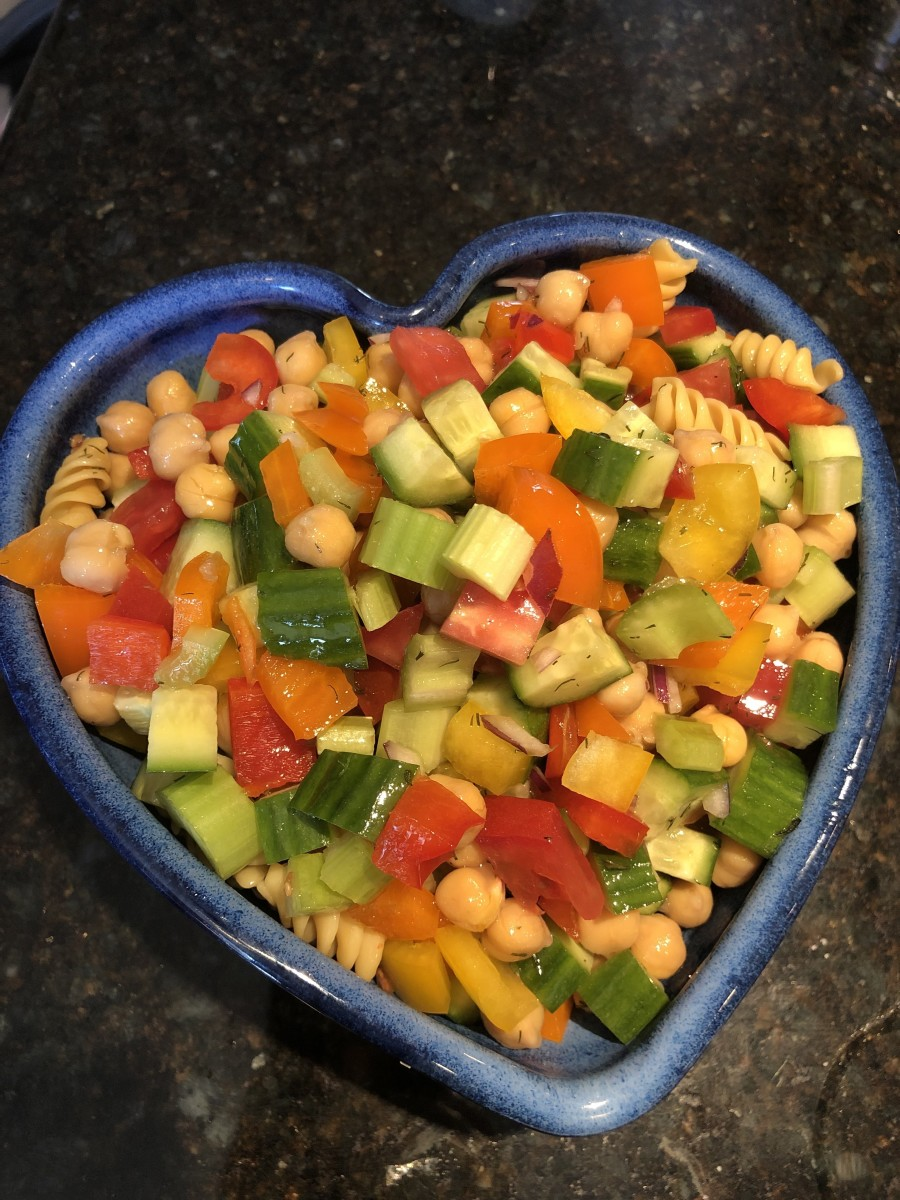 Veggie Packed Pasta Salad
