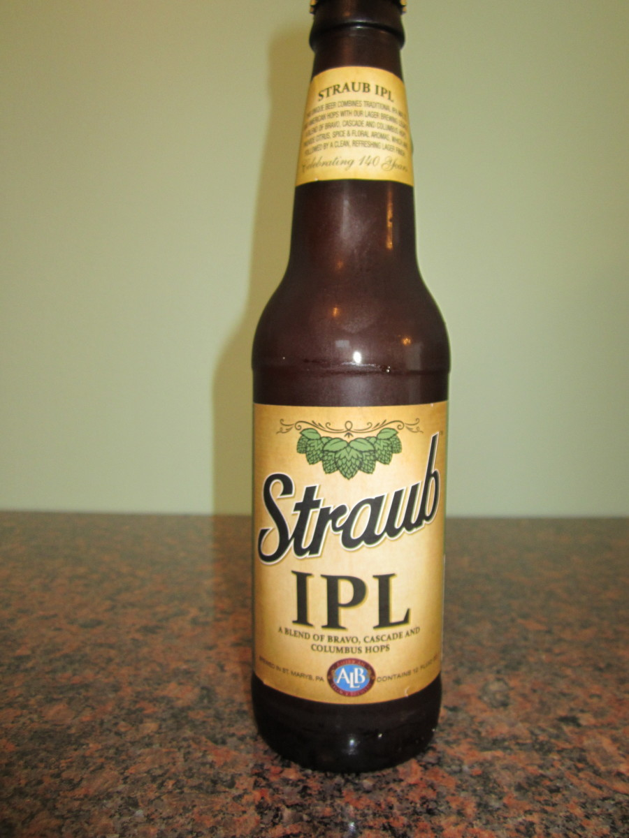 2013 Straub India Pale Lager (IPL) The hopiest of all of the Straub beers