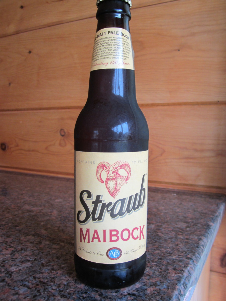 2013 Straub Maibock Limited-release springtime all-malt pale bock for 2013