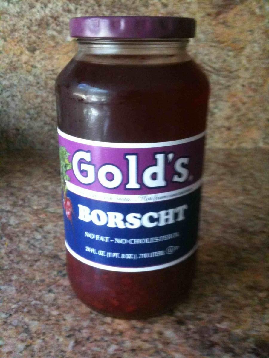 Gold's Borscht (Beet Soup)