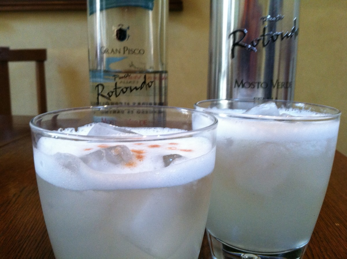 Frosty Pisco Sour Drink Recipe