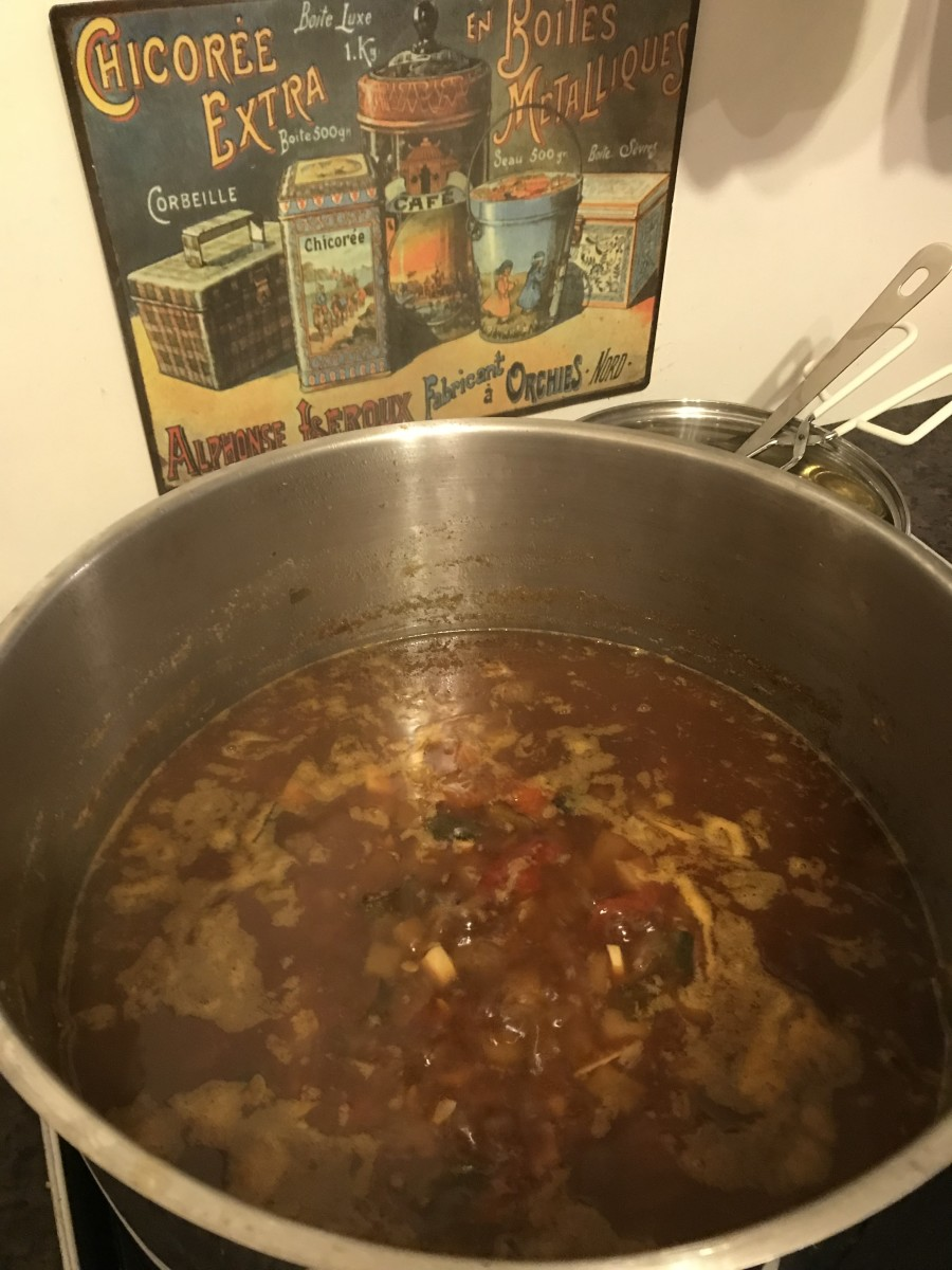 The Chutney Cooking