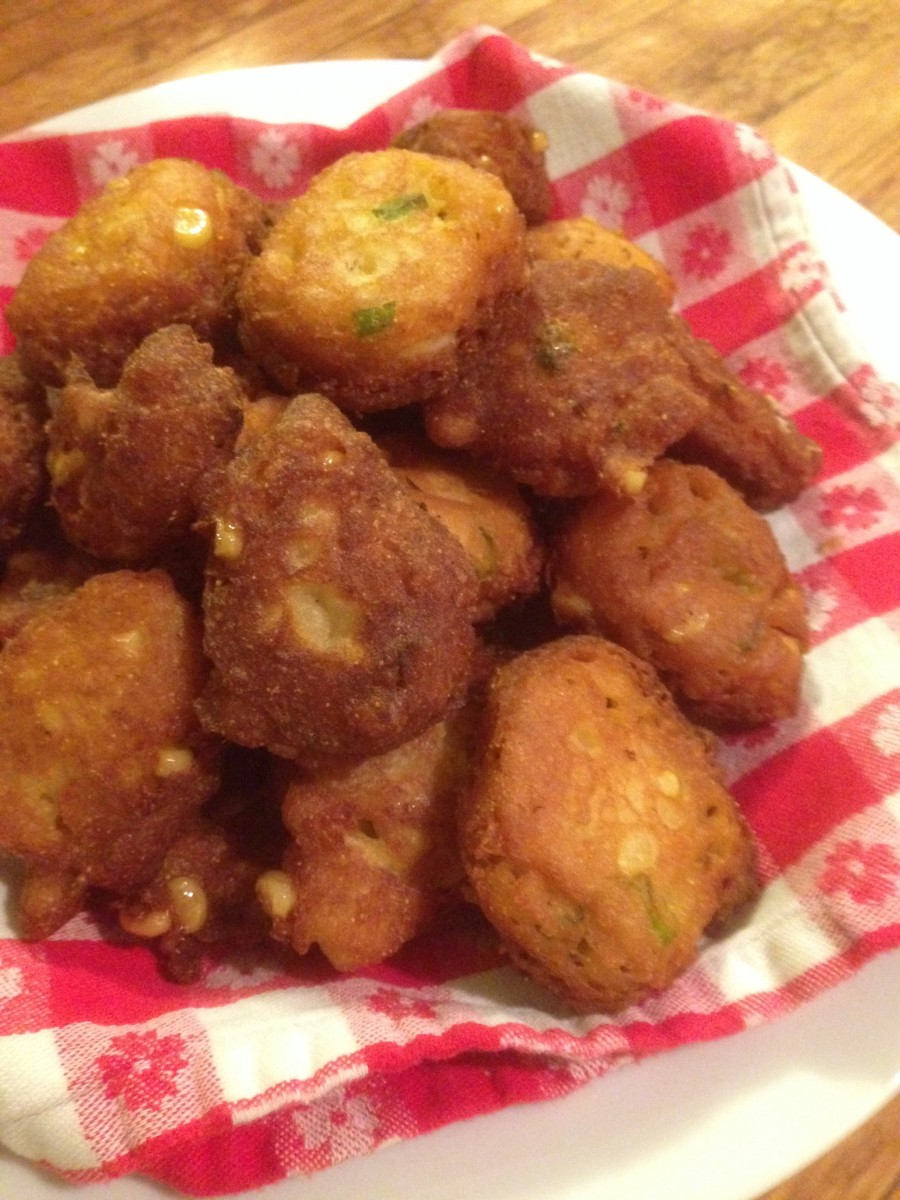 Be sure to make enough—these delicious fritters will go fast!
