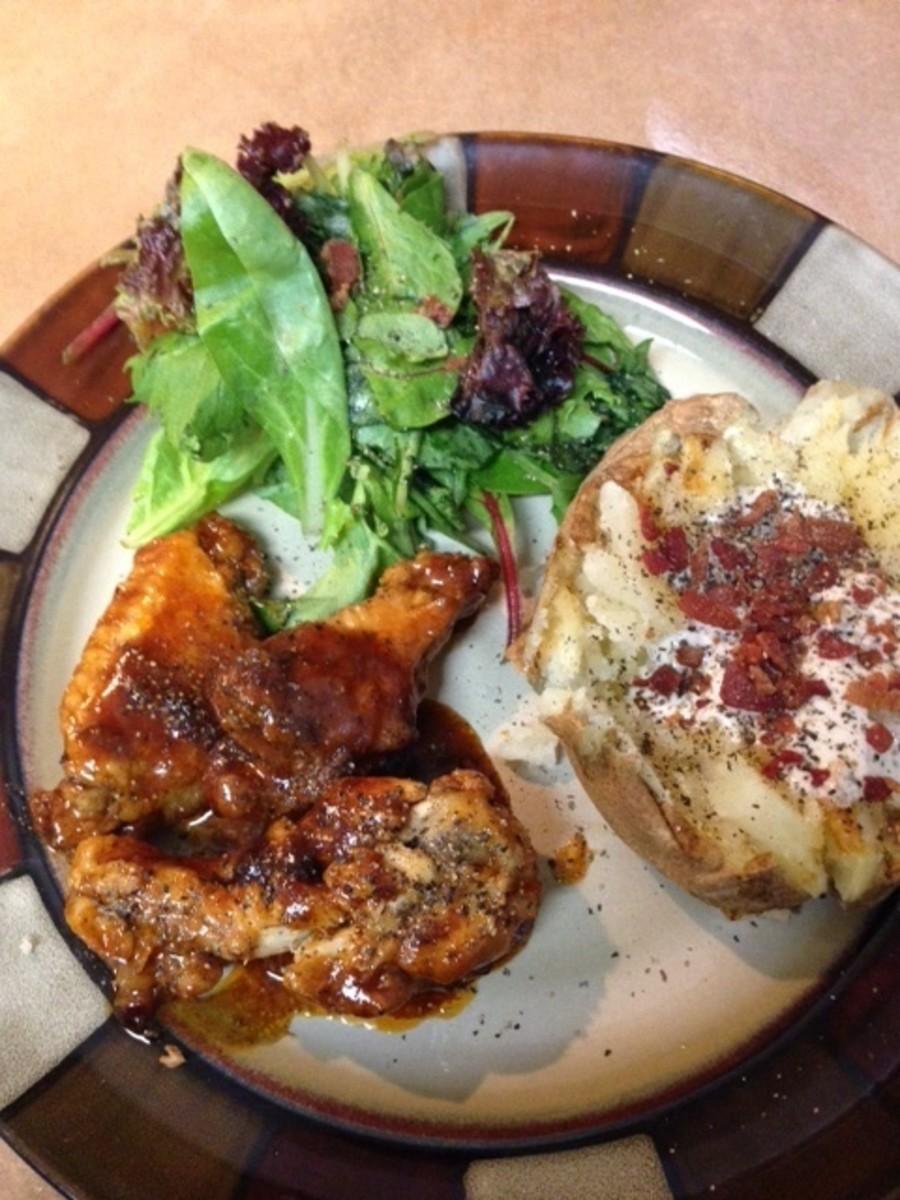 Pressure-Cooker BBQ Chicken Wings Recipe