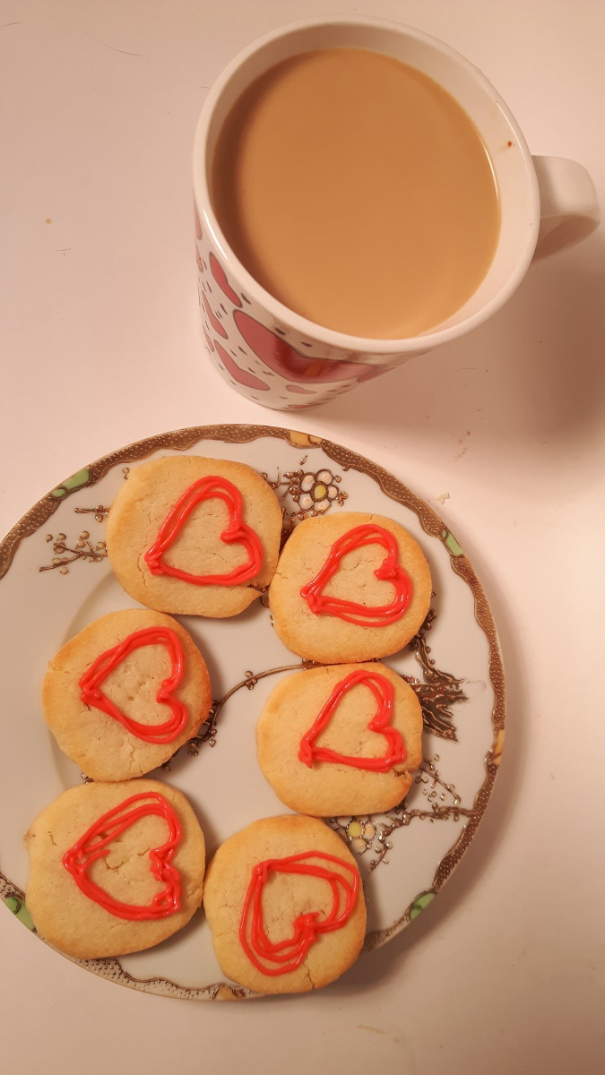 Ah! Coffee and cookies.