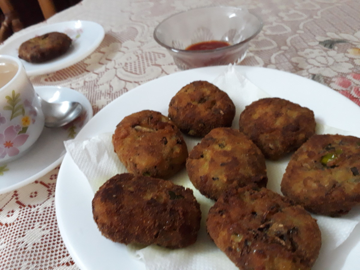 How to Make Banana Flower Cutlets