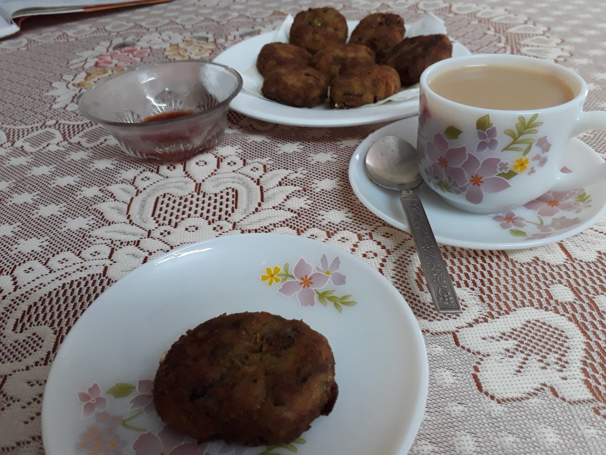 These cutlets are delicious with tea or coffee!