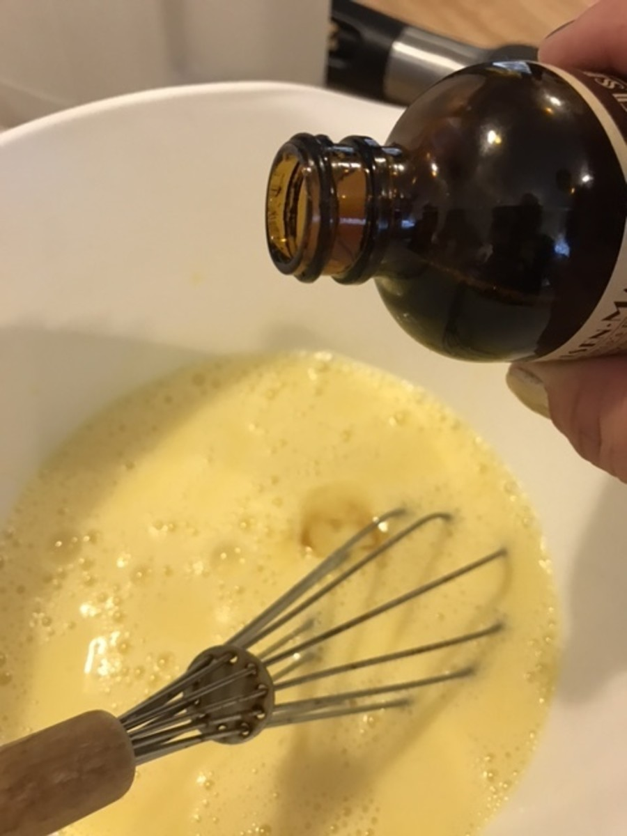 Real vanilla extract adds just a little something. If you want to go all out, try the seeds from one vanilla pod. But a teaspoon of vanilla extract is really all you need.