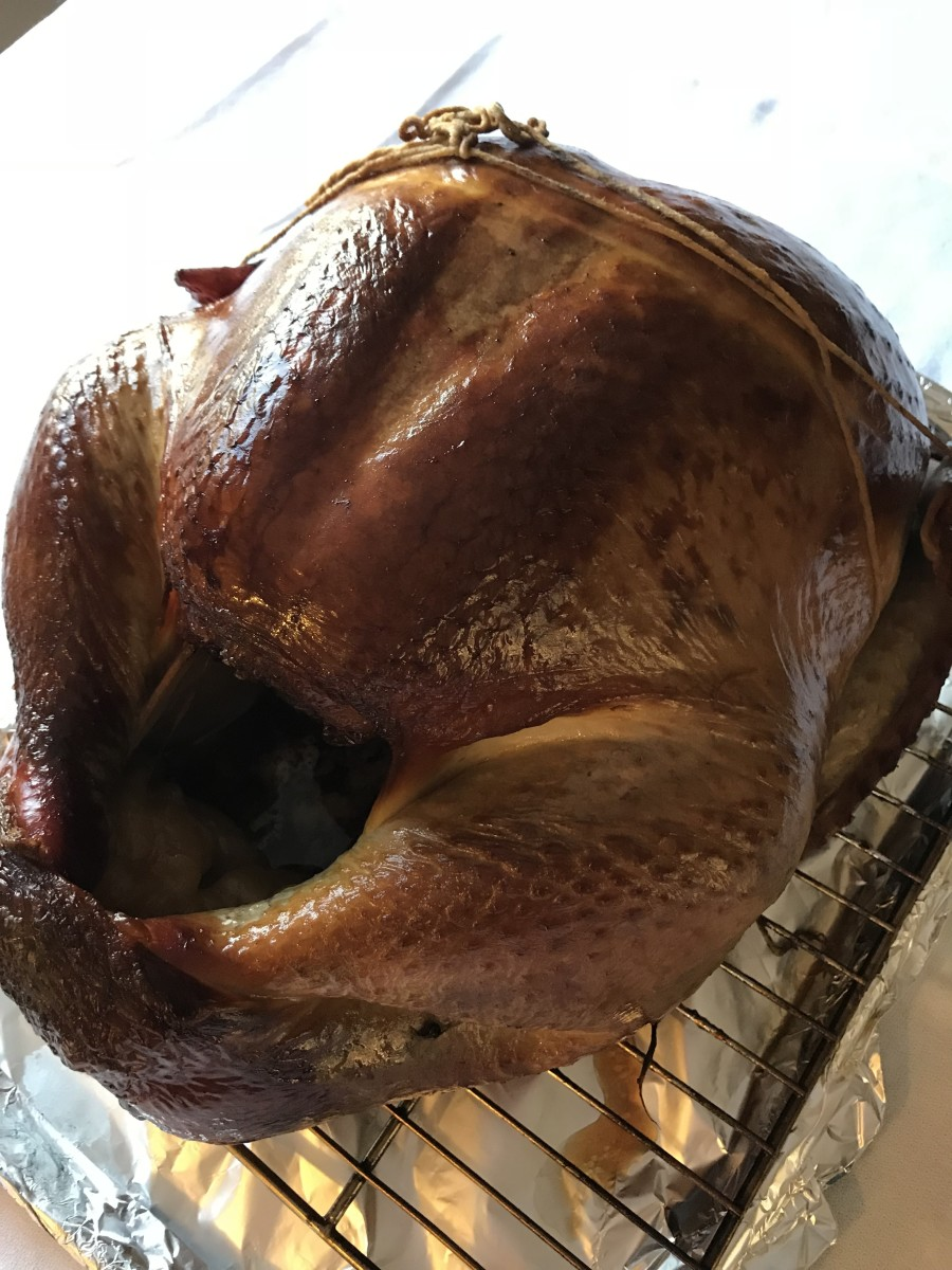 It really is easier to smoke a perfect turkey than you may think - brine, baste and walk away!