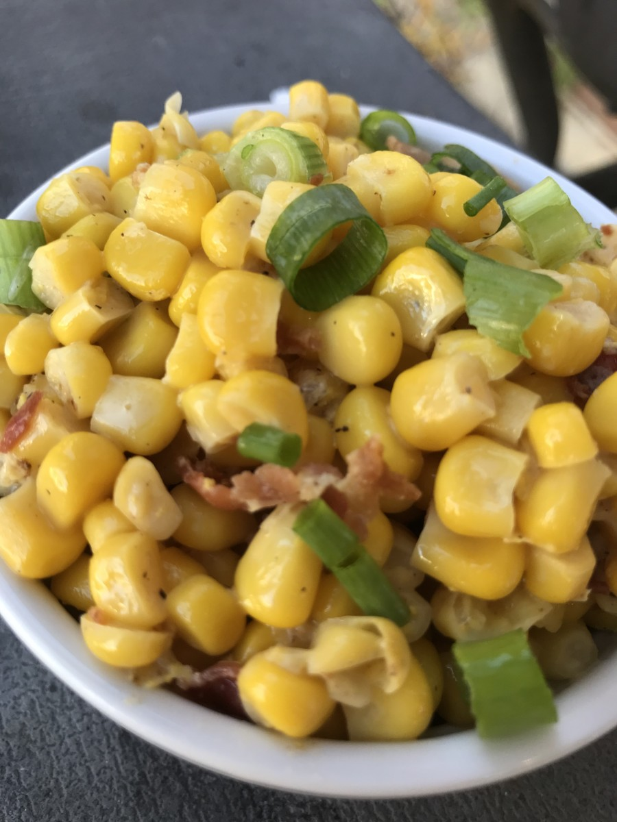 One of our family's favorite dishes, this simple recipe for Southern fried corn is super easy but with a flavor payoff you won't believe!