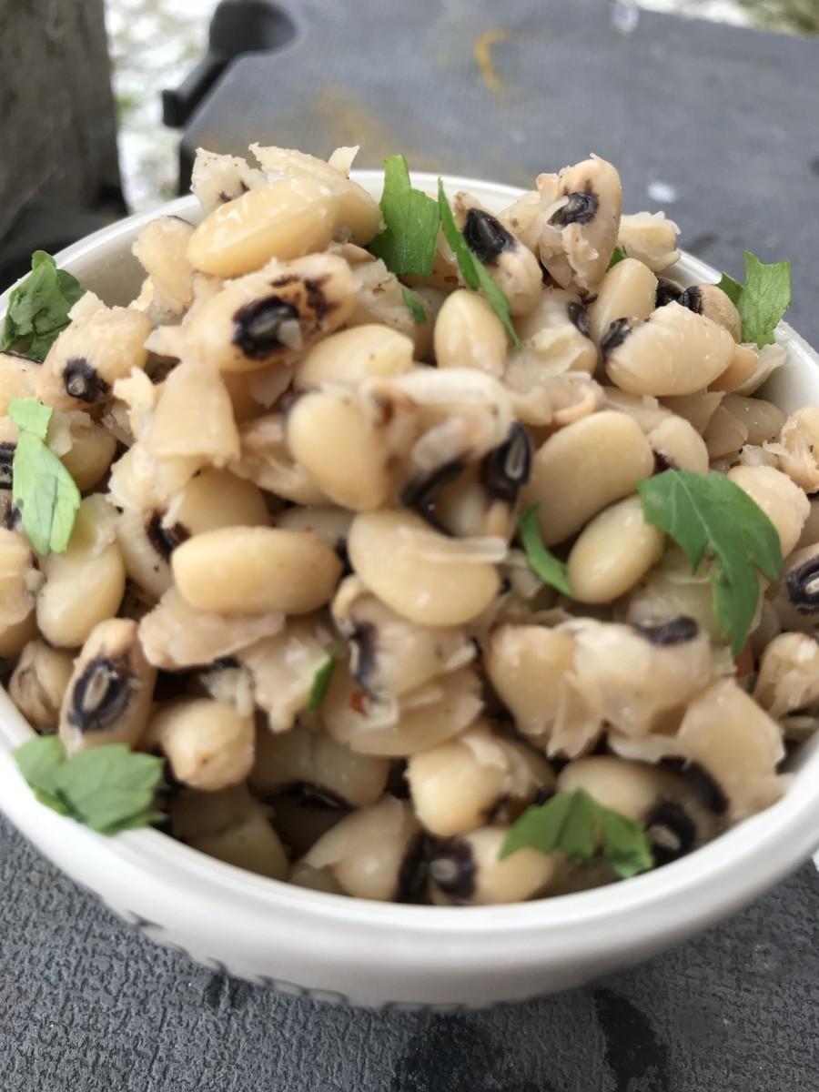 Black Eyed Pea Squash Casserole Recipe