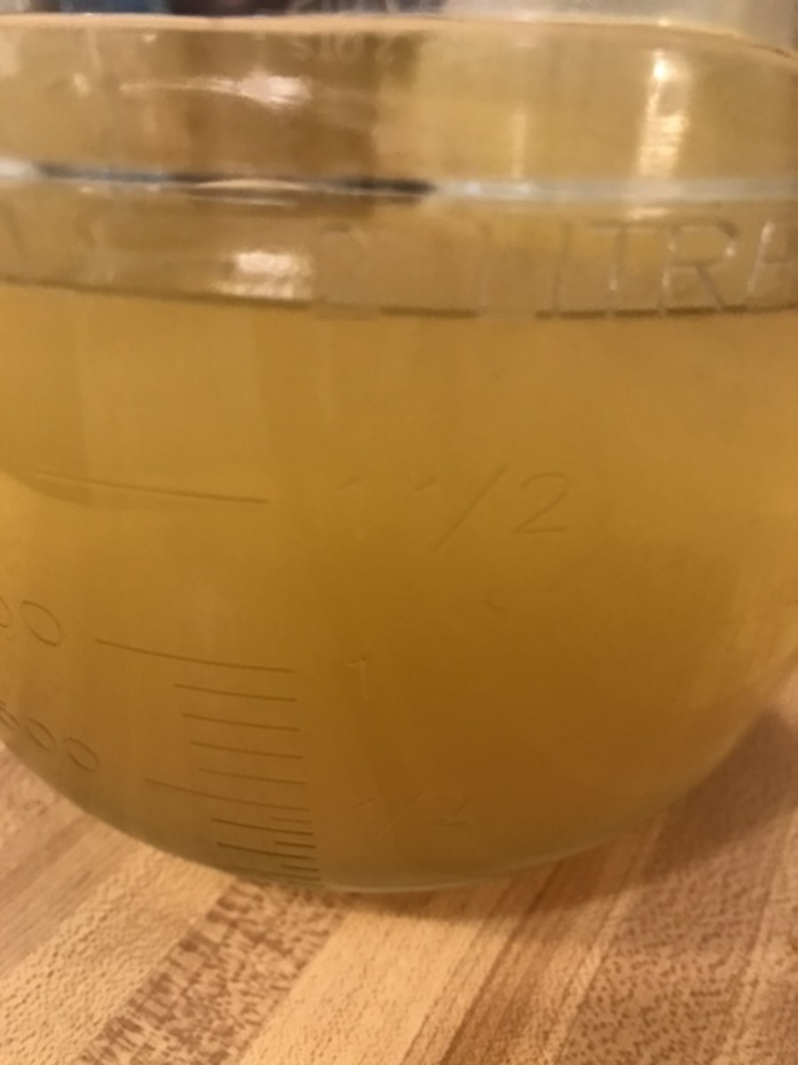 You can use either chicken or beef broth - it's whatever you have or whatever you like best. I just happen to have chicken broth most of the time, but either one works equally well.