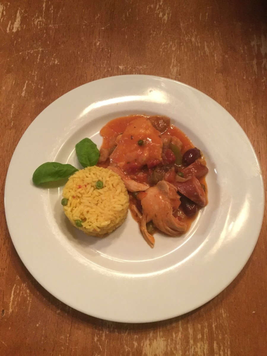 Perfect Spanish Chicken Recipe
