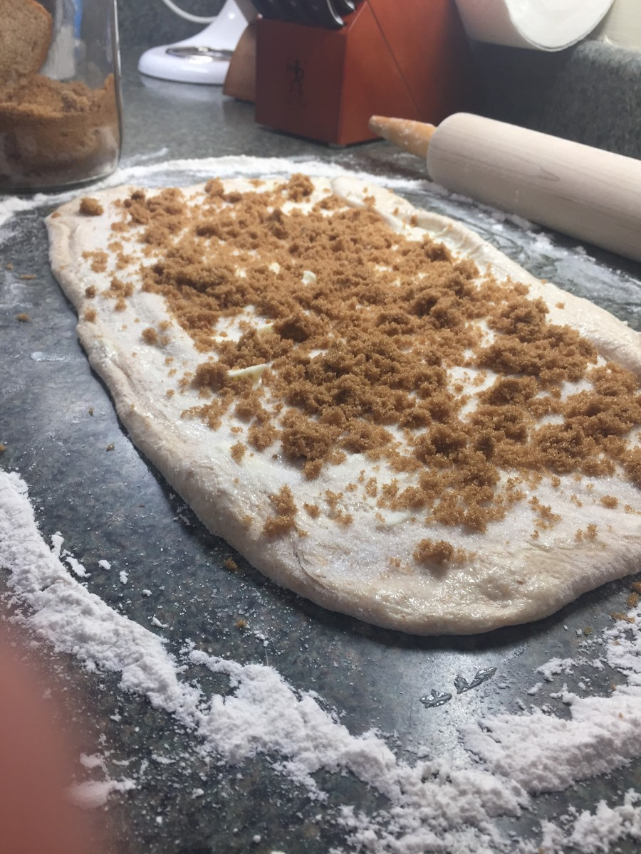 Cinnamon swirl bread filling