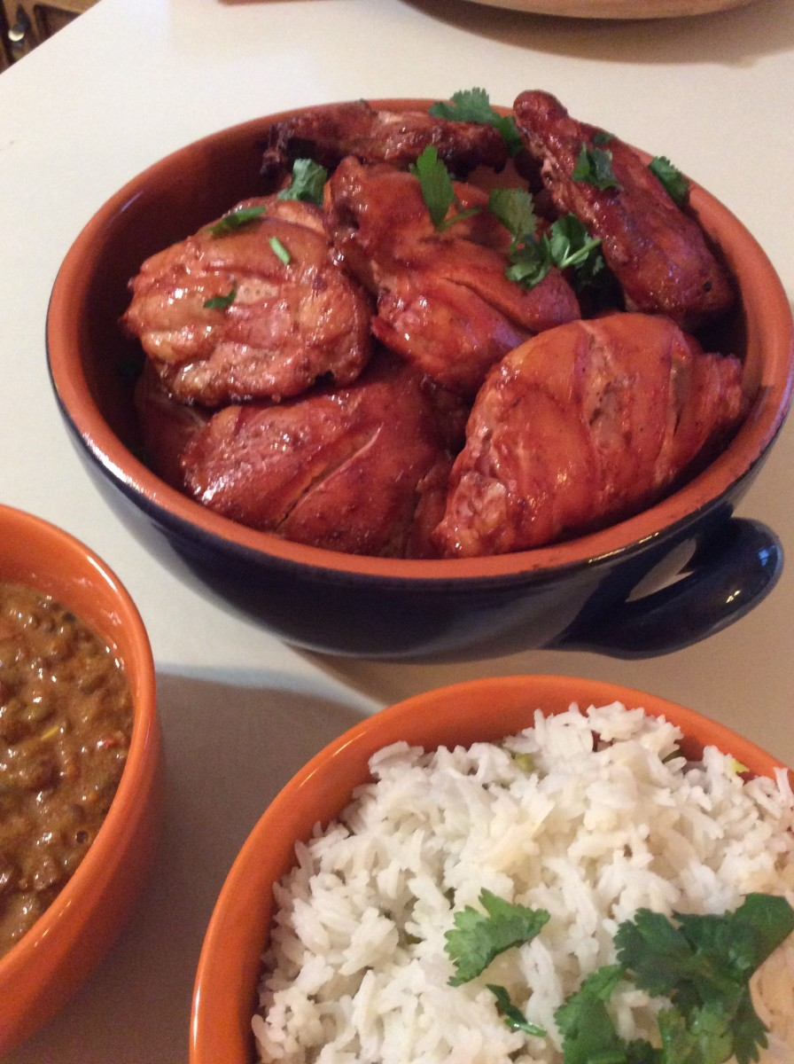 Smoker Tandoori Chicken Recipe