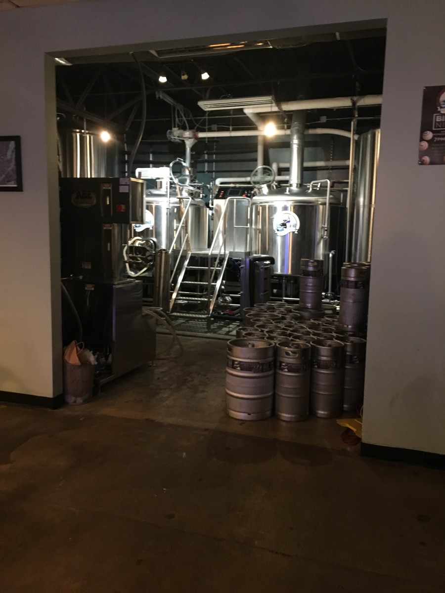 Recently, they remodeled the brewery area and opened it up for public view. Its really kind of neat to be able to see where they make these delicious beers.