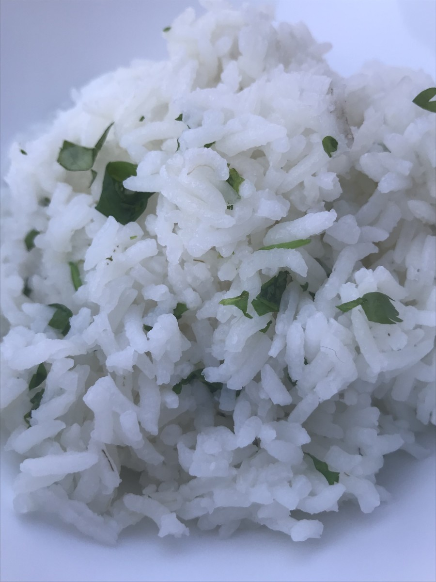 Cilantro Lime Rice - Copycat Chipotle  Cilantro Lime Rice Recipe