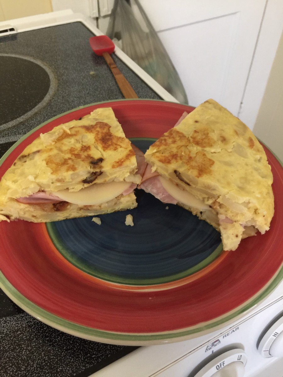 Tortilla de patata is a great main dish or accompaniment.