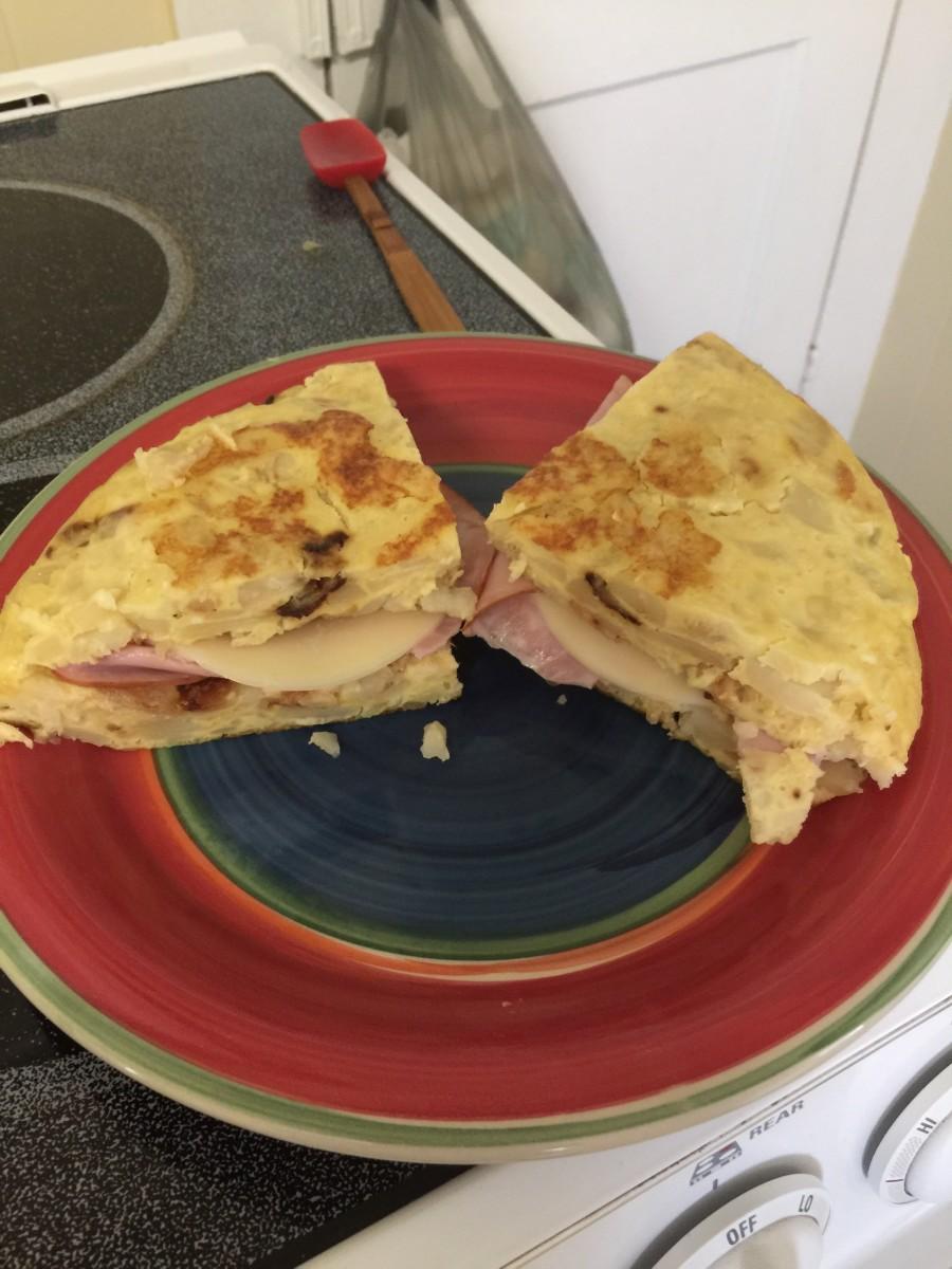 Tortilla de patata is a great main dish or accompaniment.